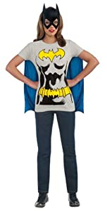 DC Comics Batgirl T-Shirt With Cape And Mask by Rubie's Costume