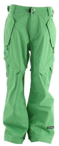 Ride Phinney Ski Snowboard Pants Green Sz L