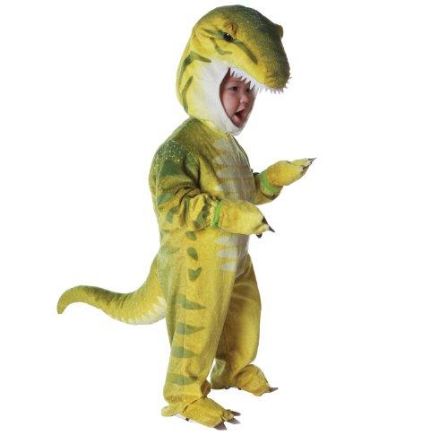 Green T-Rex Dinosaur Costume Toddler Boy - 4-6