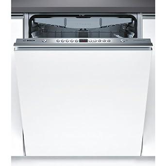 Bosch SMV58N60EU Entièrement intégré 13places A++ Acier inoxydable, Blanc lave-vaisselle - lave-vaisselles (Entièrement intégré, A, A++, Full size, Acier inoxydable, Blanc, boutons)