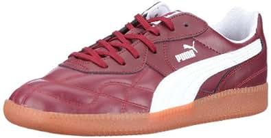 Puma Esito Classic Sala 102549, Herren Sportschuhe - Indoor, Rot (burgundy-white 04), EU 39 (UK 6) (US 7)