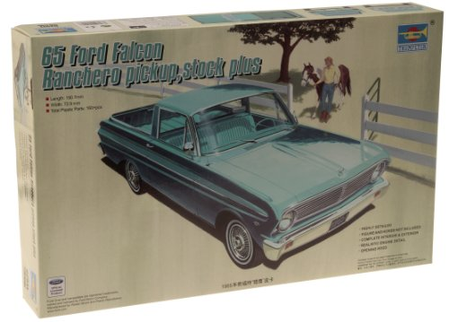 Trumpeter 1/25 1965 Stock Plus Ford Falcon Ranchero Pickup (1965 Ford Falcon Model compare prices)