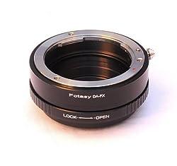 Fotasy Pro Pentax DA K Mount lens to Fujifilm FX Mount Camera Adapter
