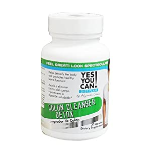 Yes You Can! Diet Plan: Colon Cleanser Detox 30 Capsules