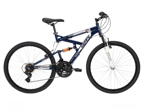 Huffy Men's DS-3 Mountain Bike, Midnight Blue, 26-Inch/Medium