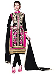 AASVAA Stylist Women's and Girl's Unstitched Dress material