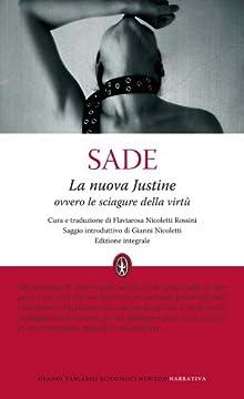 Cover La nuova Justine ovvero le sciagure della virtù. Ediz. integrale