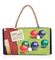 Resort Traditional Garden Wooden Boules