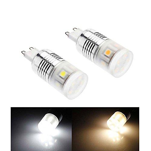 Arlybaba G9 Led 2Pcs/Pack 4W 11X5050Smd 350Lm Warm White Light Led Corn Bulb (220-240V)