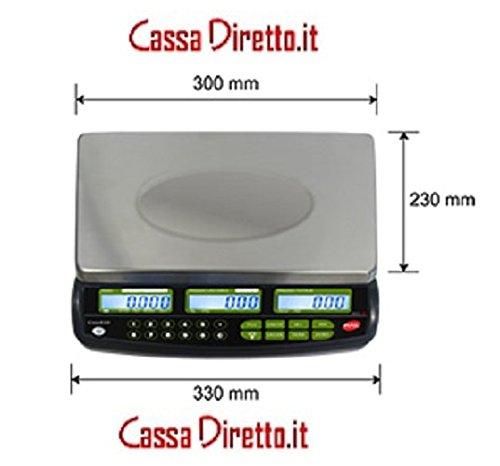 RAL Crios10 Balance électronique rechargeable Capacité 6/15kg Précision 2/5g