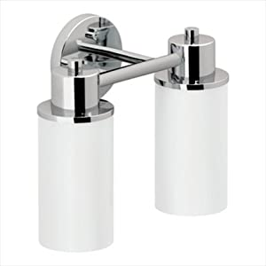 SaLe Moen DN0762CH Iso 2 Globe Bath Light Chrome Vanity Lighting Fixtures