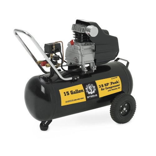 Steele Products SP-CE415M 15 Gallon Air Compressor with Wheel Kit
