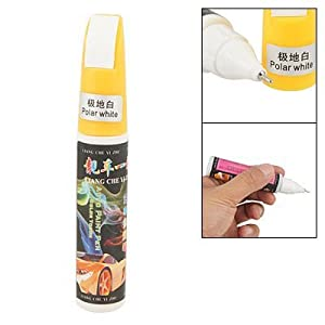 Car Polar White Scratches Repair Touch Up Paint Pen 12ml from sourcingmap