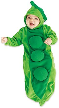 Deluxe Baby Bunting, Pea in the Pod Costume, 1 to 9 Months