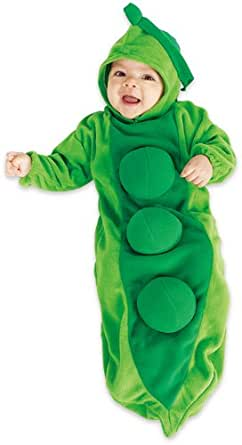 Pea in a Pod Baby Bunting Costume: Baby's Size Birth - 9 Months
