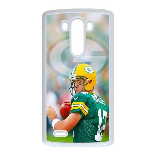 Aaron Rodgers LG G3 Cell Phone Case White K6E5RS