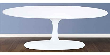 Oval Flower Coffee Table