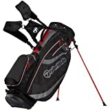 TaylorMade Stratus 3.0 Stand Bag (Black/Charcoal/Red)