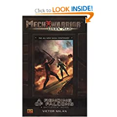 A Rending of Falcons (Mechwarrior: Dark Age #26) by Victor Milan