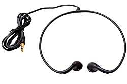 Hangout Sport Curve Stereo Headphones Wired Headset (Black)