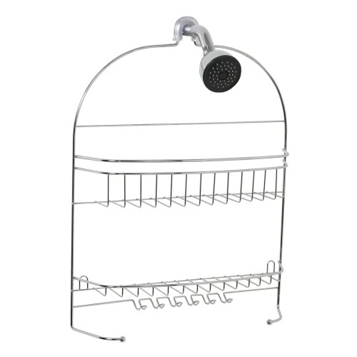Zenith Products 7531S Over The Shower Head Caddy, Chrome front-751238