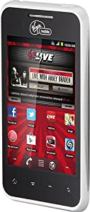 LG Optimus Elite Prepaid Android Phone (Virgin Mobile) White