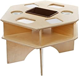 Natural Environments WD93021BN Deluxe Science Table w/Brown Tub