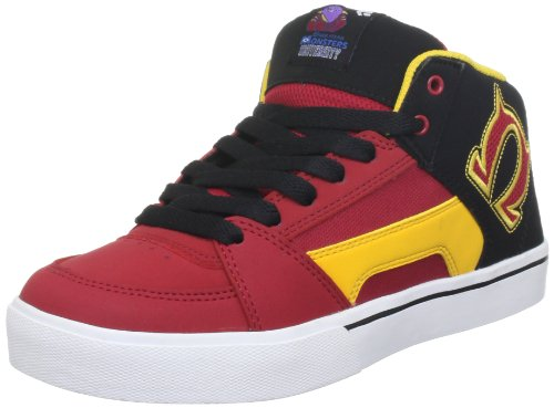Etnies Unisex-Child Disney Monsters Kids RVM Red/Black Trainers 4301000116 2 UK, 35 EU, 3 US