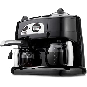 DeLonghi BCO120T Combination Coffee/Espresso Machine