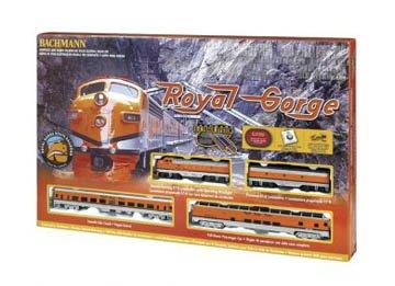 Bachmann Trains Royal Gorge Ready-to-Run HO Train Scale Train Set