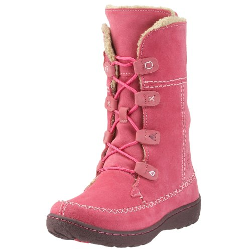 Timberland Little Kid/Big Kid Oslo Express Fauna Lace-Up Boot,Pink,7 M US Big Kid