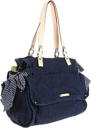 Juicy Couture A Perfect State Shoulder Bag,Dark Denim,One Size