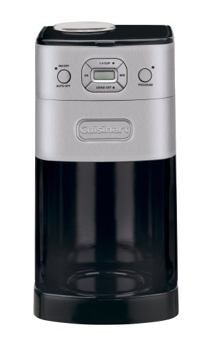 Imagen de Cuisinart DGB-625BC Grind-y-cerveza artesanal para 12 tazas Cafetera Automática, Brushed Metal