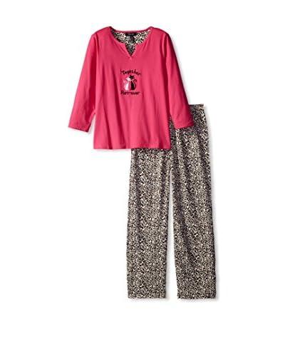 Rene Rofe Sleepwear Women's Just Lounging Around Pajama Set