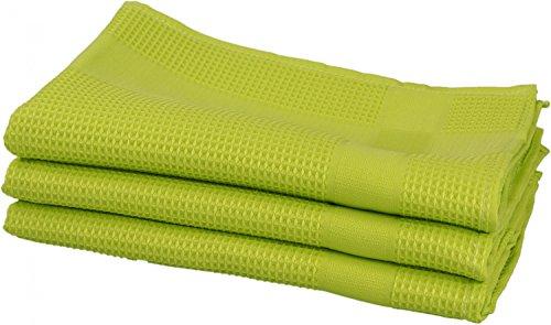 lot-de-3-verres-de-polissage-chiffon-sec-et-de-microfibre-nid-50-x-70-cm-vert-50-x-70-cm