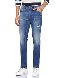 Pepe Jeans Men's PM201736G214-3 Slim Fit Jeans (8903872889921_PM201736G214_38W x 34L_Mid-Blst)