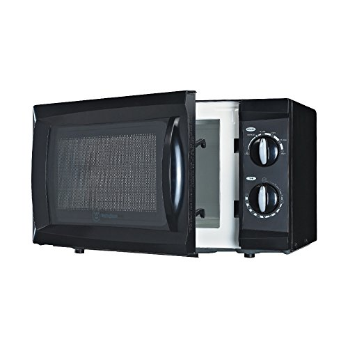 Westinghouse WCM660B 600 Watt Counter Top Microwave Oven, 0.6 Cubic Feet, Black (Very Small Microwave Oven compare prices)