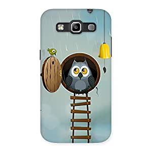 Gorgeous Raining Leader Owl Back Case Cover for Galaxy Grand Quattro