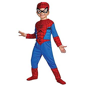 Amazon.com: Child's Standard Spider-Man Costume (Size 3T-4T): Toys & Games