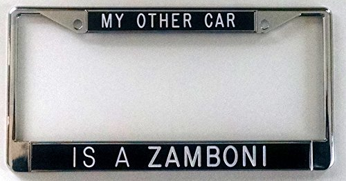 my-other-car-is-a-zamboni-license-frame-black-background-by-all-about-signs-2