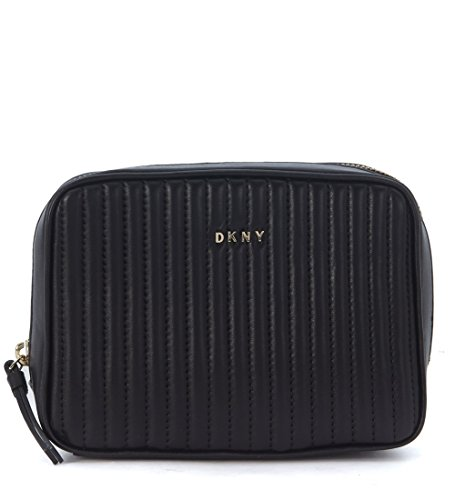 Borsa a tracolla DKNY in pelle nera