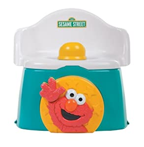 Sesame Street 1-2-3 Learn with Me Potty Chair (Discontinued by Manufacturer)