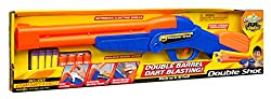 Buzz Bee Toys Air Warriors Over Under Double Shot Toy