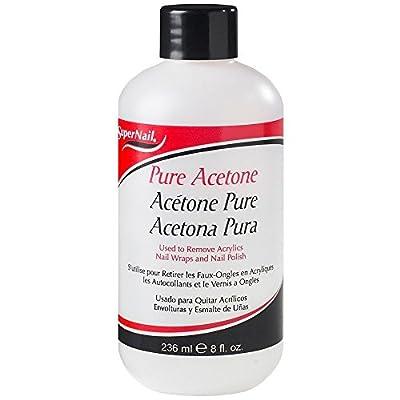 Supernail Pure Acetone - 8 oz