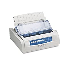 Oki® - ML420N Nine-Pin Dot Matrix Printer - Sold As 1 Each - A fast, rugged dedicated forms printer designed to perform in demanding environments.