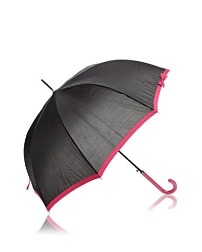 Dots Paraguas Cenefa Fucsia