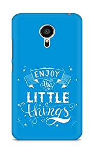 AMEZ enjoy the little things 2 Back Cover For Meizu MX5