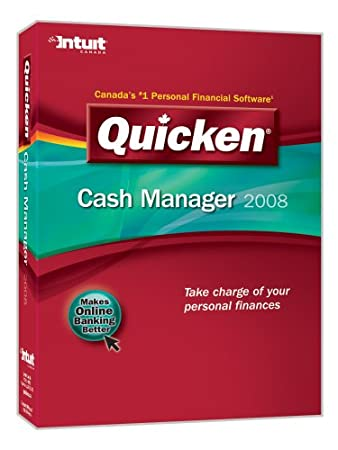 Quicken Cash Manager 2008 [OLD VERSION]