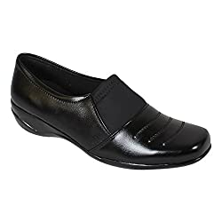 Footshez womens Black Synthetic Formals 39