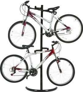 2 Bike Vertical Indoor Bicycle Storage Rack
